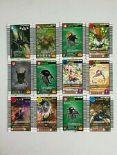 Mushiking:KING OF BEETLE CARD 12 CARDS USED CONDITION FOR PLAY ARCADE GAME #1660