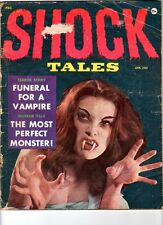 WoW! Shock Tales / 1959 Campy Sleezy Horror Fiction! Odd Pics!  Rare One-Shot!