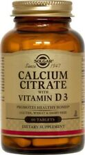 Calcium Citrate with Vitamin D Solgar 60 Tabs