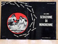 ART. 182 SEDUZIONE DI MINORENNE fotobusta poster affiche Hermann Leitngr AE11
