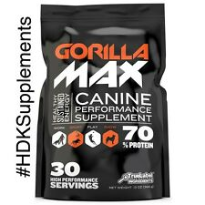 Gorilla Max 30 Day Supply Performance Supplement : Bully Max Products