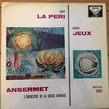 SXL 2027 Debussy / Dukas / Ansermet / OSR W/B BLUE BACK