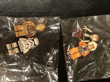 Lego Star Wars Mini Figures Lot Storm Troopers C3PO Hans Solo Luke Pilot