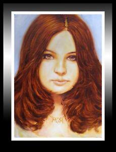 'Charlotte', Beautiful Oil Painting: A Fantastic Gift Idea!