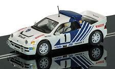 Scalextric-C3493 FORD RS200 SIG Blomqvist 1986 Swedish rally-Neuf