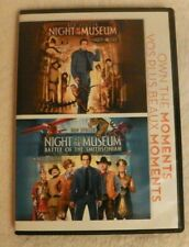 Night at the Museum 1 and 2 (2 DVD Set, 2014) Ben Stiller, Robin Williams