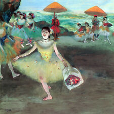 Dancer with a Bouquet, Bowing, Degas- GICLEE ART PRINT 12 x 15 Many Sizes