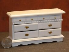 Dollhouse Miniature Double Dresser White 1:12 one inch scale J21 Dollys Gallery