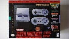Super Nintendo Entertainment System - Classic Edition SNES New 21 Games