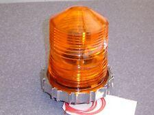 NEW Original Skee Ball Scoring Orange Top Beacon Light. Chrome Ring Plastic Base