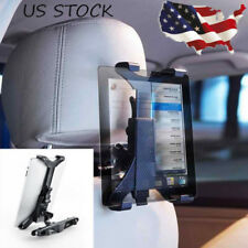 Car Back Seat Headrest Mount Holder For iPad 2/3/4/5 Galaxy Tablet PC Adjustable