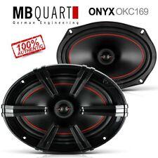 """Genuine MB Quart ONYX Series OKC169 6""""x9"""" 6x9 2-Way Coaxial Speakers 100W"""