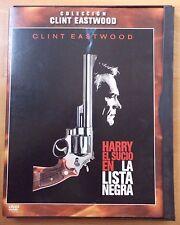 DVD,Harry el Sucio.En La lista Negra.Clint Eastwood