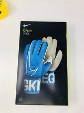 Nike GK Spyne Pro Elite Goal Keeper Soccer Football Gloves Size 10 Blue
