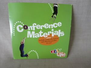 NEW RARE EBAY LIVE 2004 CD NEW ORLEANS CONFERENCE MATERIALS COLLECTIBLE