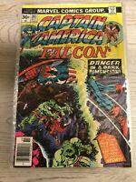 CAPTAIN AMERICA #202 Oct 1976 Vintage Marvel Avengers VF+