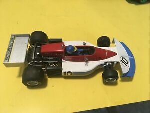 FLY car model, 1:32 scale slot car, March 761, made in spain #10