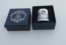 Royal Commemorative Sutherland Collectable China Sewing Thimbles