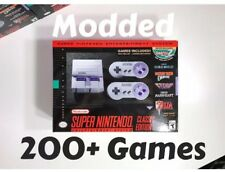 200+ Added Games SNES Classic Console, Super Nintendo Mini System W/ Extra Games