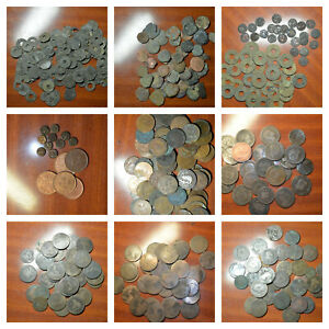 🔥🔥THE BEST LOT OF OLD COPPER WORLD COINS, READ THE DESCRIPTION! 🔥🔥