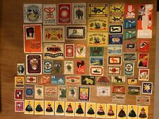 Vintage Matchbox Labels - Made In Various Countries (9) Poland