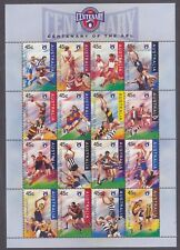 Australia 1507a Mnh 1996 Centenary Of The Afl Mini Sheet of 16 Very Fine