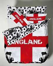 Catherine Lansfield England Football Bedding Double Duvet Set NEW  22292