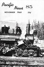Pacific News 85 November 1968 Hillcrest Lumber Company Vancouver Island Canada