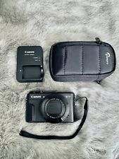 Canon G7X Mark II PowerShot 20.1MP Digital Camera (Black) +Extras And +MINTY+