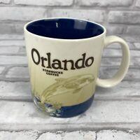 Starbucks Coffee Orlando 2012 City Collector Series Dolphin 16 oz Mug Tea Cup
