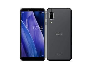 SIM FREE Japan Smartphone au SHARP AQUOS sense3 basic SHV48 Black