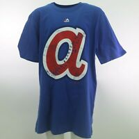 Atlanta Braves Official MLB Cooperstown Collection Youth Size T-Shirt New
