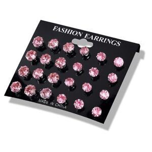 Romantic Zircon Earrings Set Brinco Trendy Female Craft Gift Women Jewelry LP