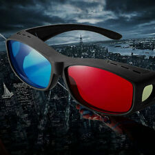 Universal Type 3D Glasses/Red Cyan 3D glasses Anaglyph 3D Plastic Glasses UL