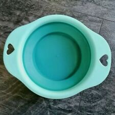 Collapsible dog water bowl