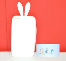 Cover Coniglio Rabbit Playboy in Silicone per iPhone 4 e 4S
