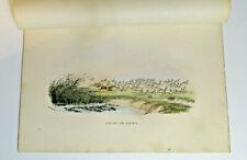 "William Cornwallis Harris ""Hunting The Blesbok"" 1852 Africa Lithograph"