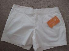 NWT - DOCKERS ladies White shorts - sz 14P - MSRP $44.00 - Very Cute!!