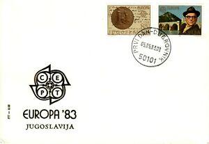 YUGOSLAVIA 1983   'Europa'  Nobel Prizes.. FDC
