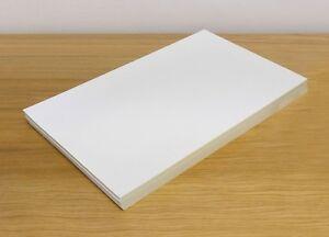 A4 Full White Matt Self Adhesive Sticker Paper Sheet Address Label UK Stock