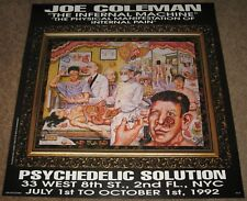 1992 SHOW POSTER 'PHYSICAL MANIFESTATION OF INTERNAL PAIN' Psychedelic Solution