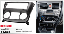 CARAV 11-024 1Din Marco Adaptador Kit de Radio NISSAN Almera (N16) 2000-2006