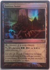 Bastion boisé PREMIUM / FOIL VF - French Wooded Bastion - Mtg Magic