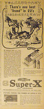 1953 Western Super X Shot Gun Shells Box~Cartridges~Traps~Targets  Paper Ad