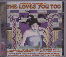 She Loves You Too - Various Artists - CD (half a cow hac100)