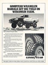 1990 Dodge Ram Truck Race Goodyear H56x - Classic Vintage Advertisement Ad H56