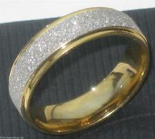 Yellow Gold Plated Band Costume Rings without Stone