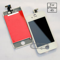 White LCD For i Phone 4S replacement screen Touch Digitizer & Touch with Tools