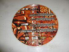 "THE STUNNED GUYS & DJ PAUL - Thrillseeka - Italy 4-track 12"" Picture Disc Single"