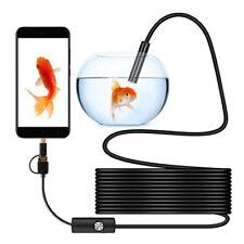 telecamera endoscopica endoscopio usb per cellulari android sonda con telecamera